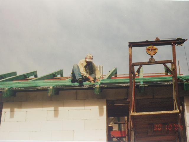 ja na druhe pulce krovu