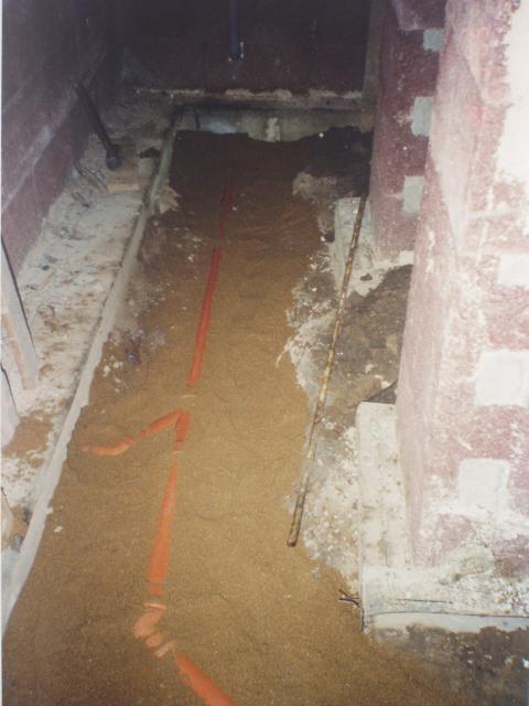kanalizacni potrubi ve sklepe